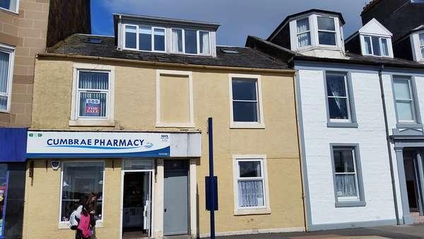 2 Bedrooms Flat for sale in 31 Stuart Street, Millport, Isle of Cumbrae, KA28 0AJ