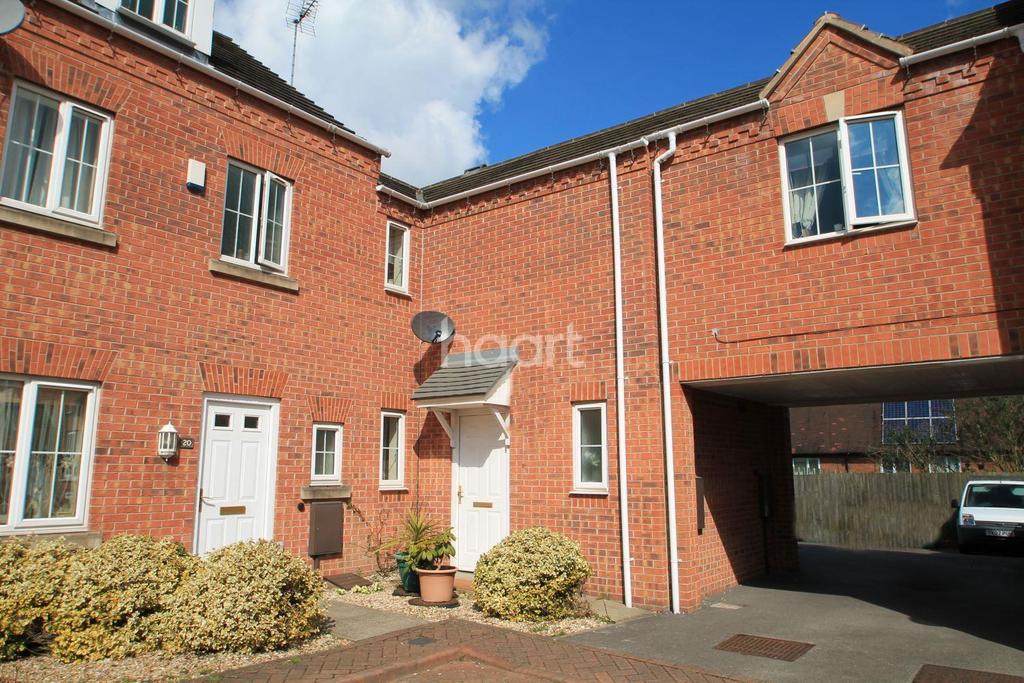 2 Bedrooms Terraced House for sale in Blackburn Way, Bestwood, Nottingham