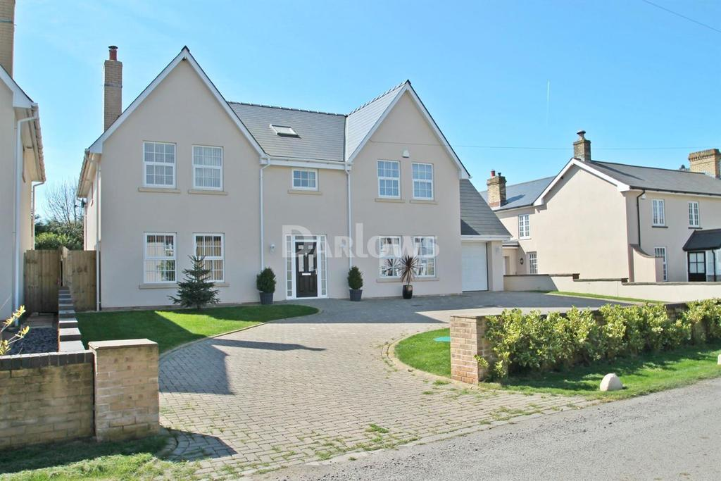 5 Bedrooms Detached House for sale in Church Road, St Brides, Wentlooge, Newport