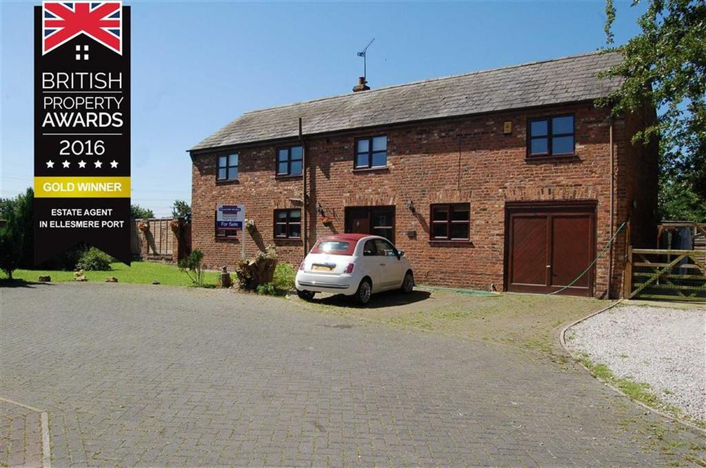 4 Bedrooms Detached House for sale in Pool Lane, Thornton-le-moors, Chester
