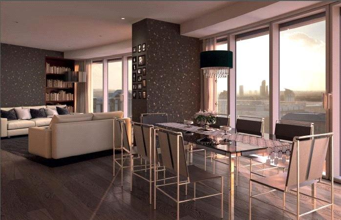 2 Bedrooms Flat for sale in The Apartments, 9 Baltimore Wharf, London