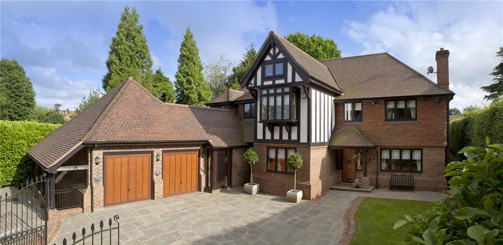 5 Bedrooms Detached House for sale in Grassy Lane, Sevenoaks, Kent, TN13