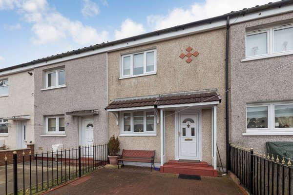 2 Bedrooms Terraced House for sale in 135 Commonhead Road, Easterhouse, Glasgow, G34 0DS