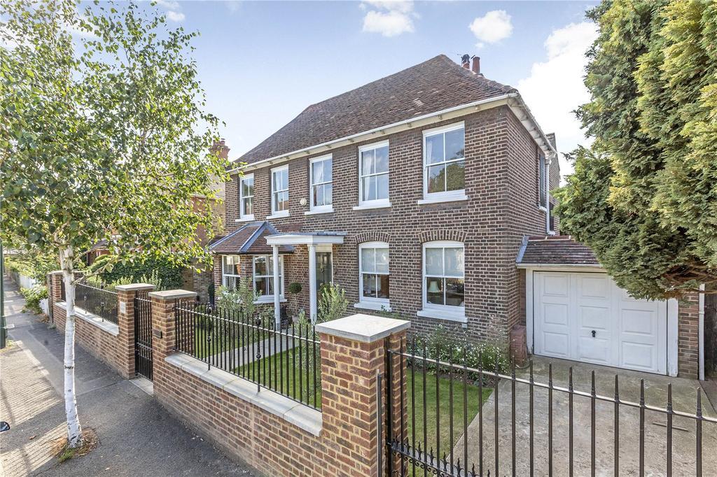 4 Bedrooms Detached House for sale in Ham Street, Ham, Surrey, TW10