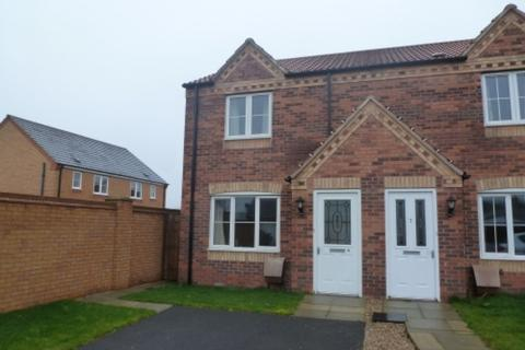 2 bedroom end of terrace house to rent - Thirsk Close, Market Rasen