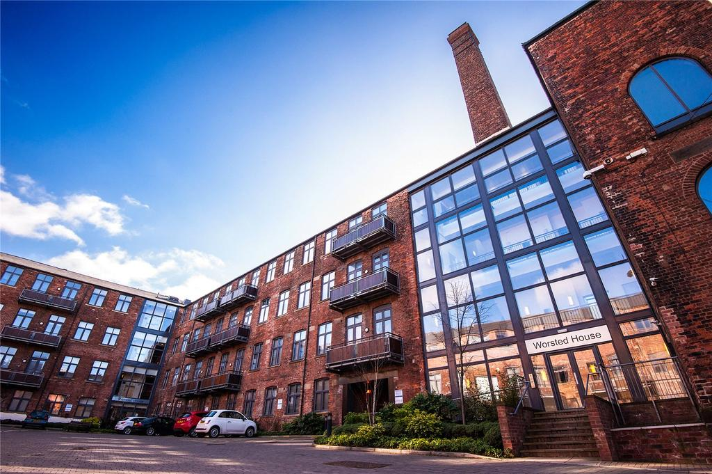 Studio Flat for sale in Worsted House, East Street, Leeds, West Yorkshire, LS9