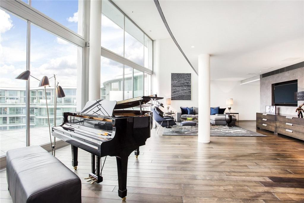 3 Bedrooms Penthouse Flat for sale in Albion Riverside Building, 8 Hester Road, Battersea Park, London, SW11