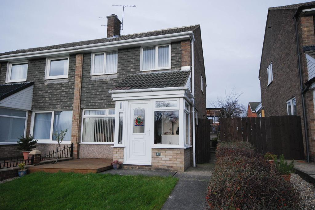 3 Bedrooms Semi Detached House for sale in Stephen Court, Jarrow