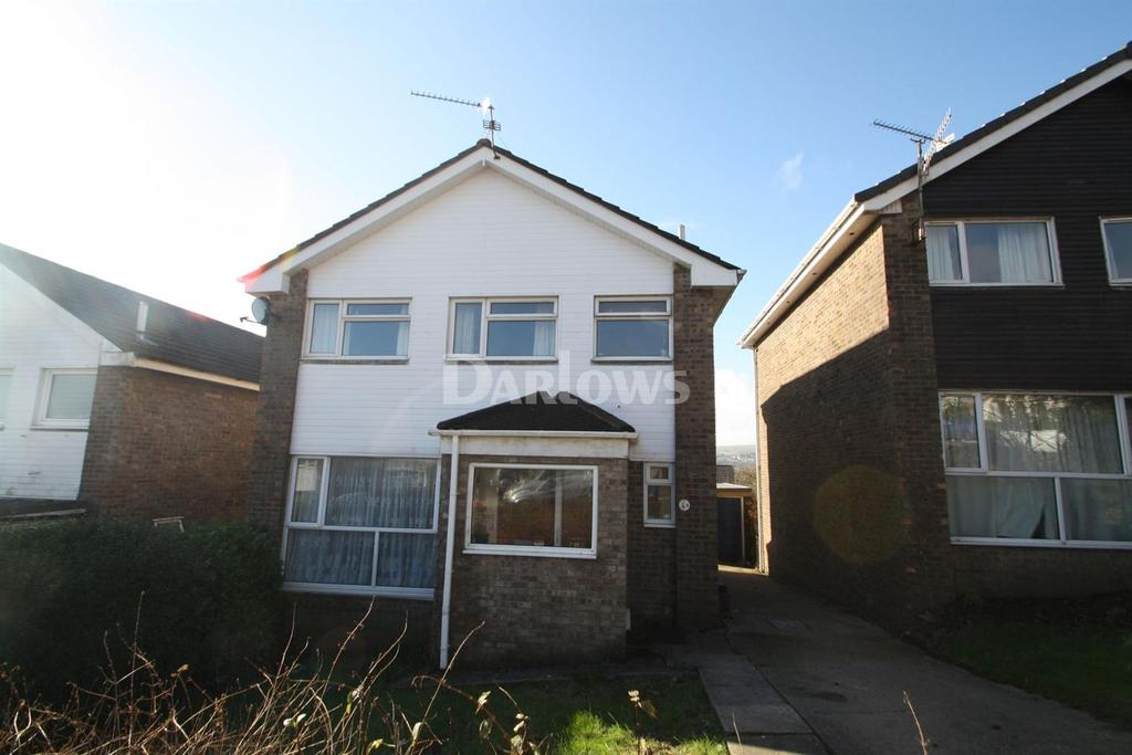 4 Bedrooms Detached House for sale in Greenacre Drive, Bedwas Caerphily