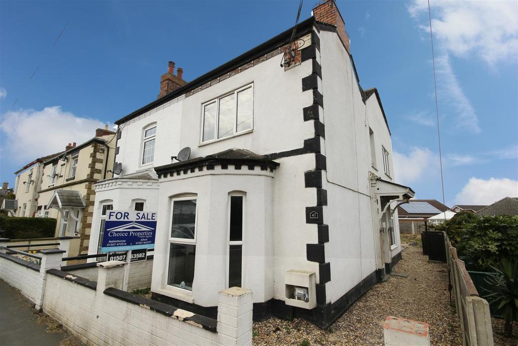 3 Bedrooms Semi Detached House for sale in 47 Station Road, Alford, Lincolnshire.