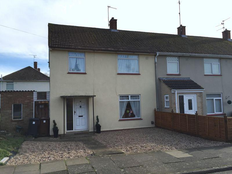 3 Bedrooms Terraced House for rent in Sulgrave Drive, Corby