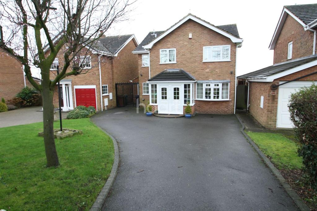 4 Bedrooms Detached House for sale in Longlands Lane, Findern