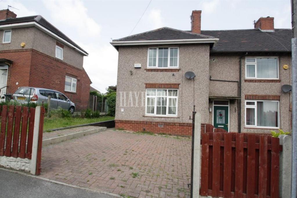 2 Bedrooms End Of Terrace House for sale in Lewis Road, Woodthorpe, S13