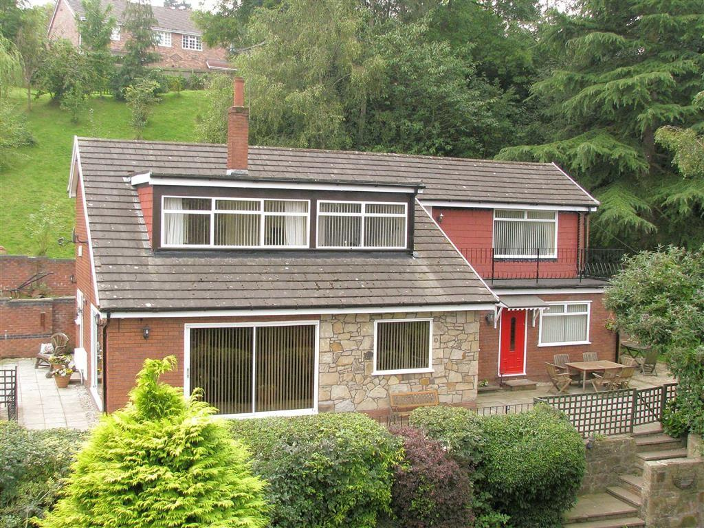 4 Bedrooms Detached House for sale in Pendwll Road, Moss, Wrexham