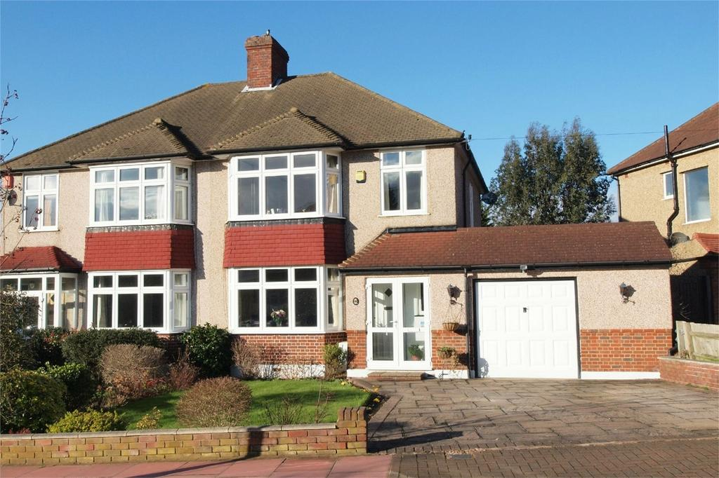 3 Bedrooms Semi Detached House for sale in The Crescent, West Wickham, Kent