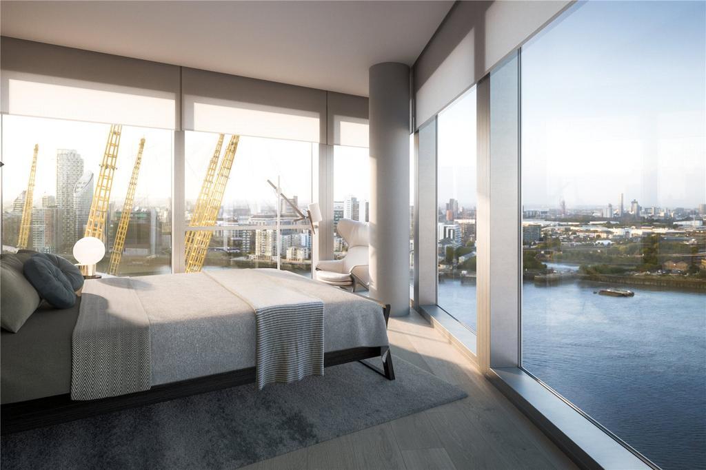 2 Bedrooms Flat for sale in Upper Riverside, Greenwich Peninsula, SE10