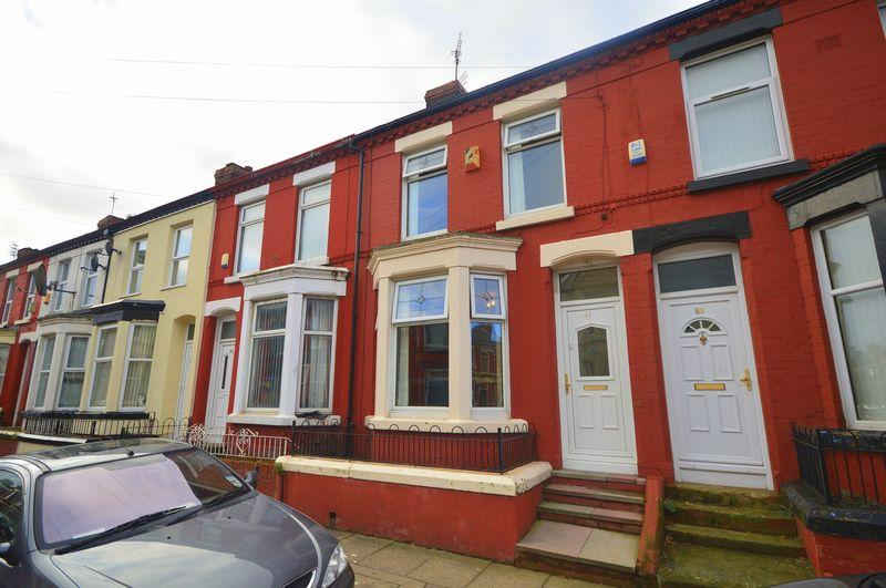3 Bedrooms Terraced House for sale in Thornycroft Road, Wavertree