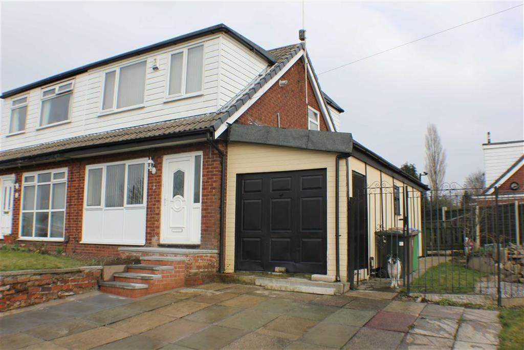 3 Bedrooms Semi Detached House for sale in 3, Fairway, Castleton, Rochdale, OL11