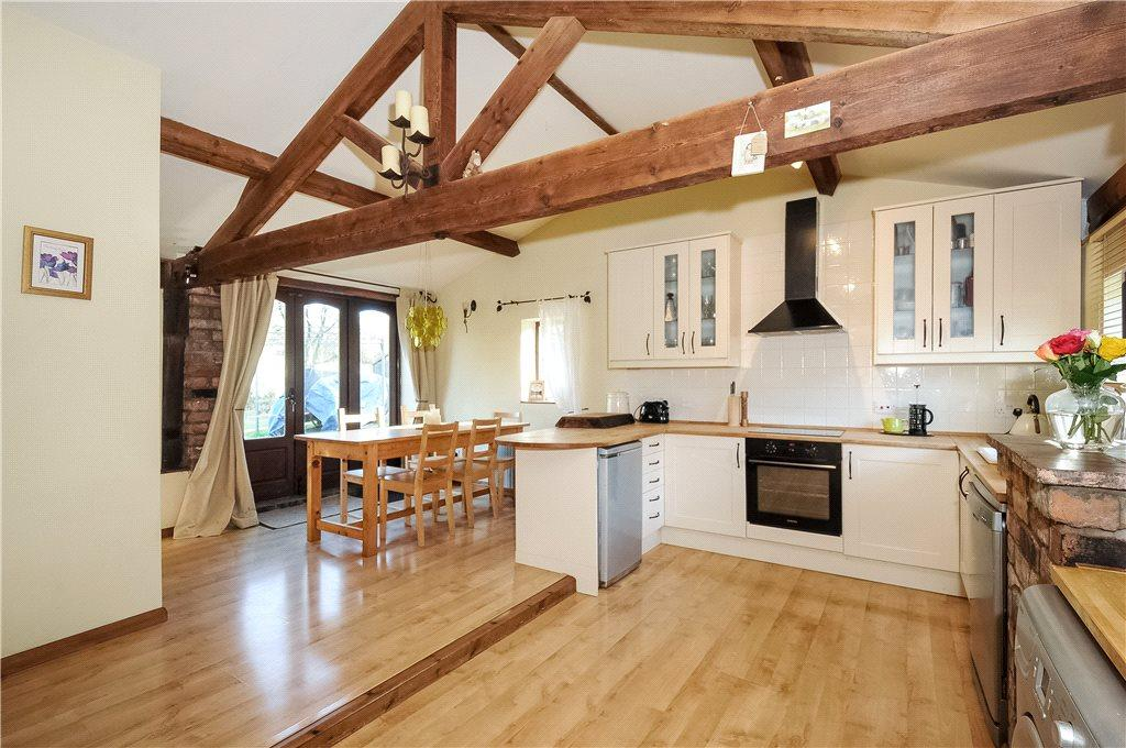 4 Bedrooms Barn Conversion Character Property for sale in Pultheley Farm, Hyssington, Montgomery, Powys, SY15