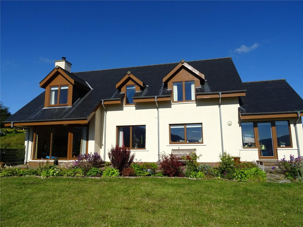 3 Bedrooms Detached House for sale in Durnamuck, Dundonnell, Garve, Ross-Shire