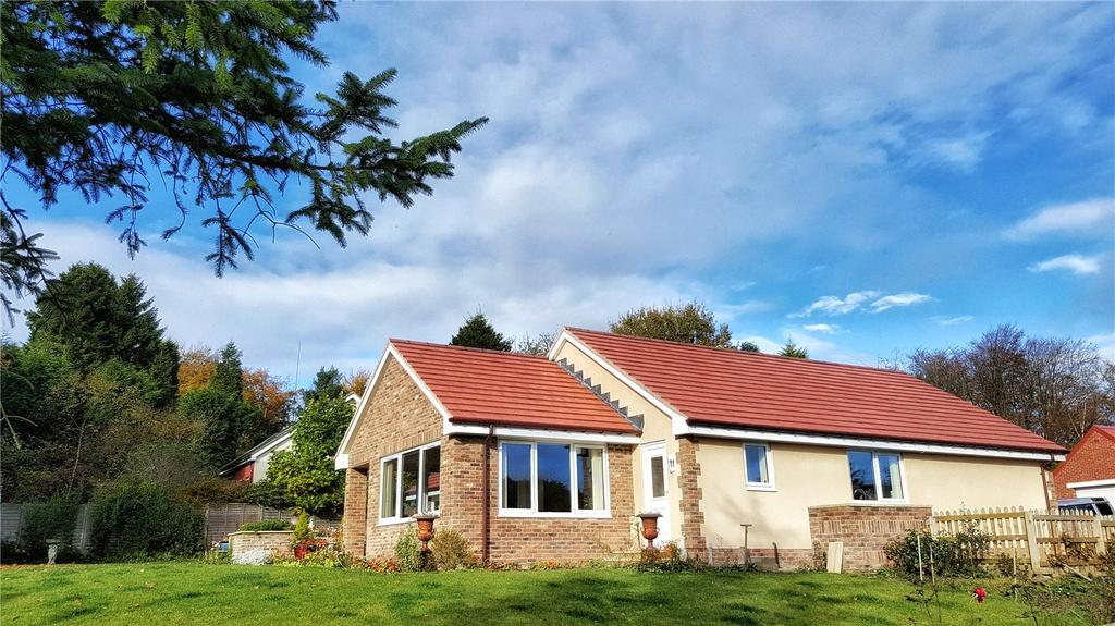 4 Bedrooms Detached Bungalow for sale in Percy Drive, Swarland, Morpeth, Northumberland