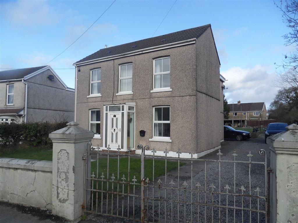 4 Bedrooms Detached House for sale in Bryncaerau, Trimsaran, Llanelli
