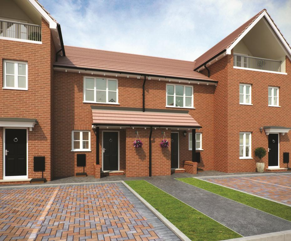 2 Bedrooms Terraced House for sale in THE BOWMONT, Navigation Point, Cinder Lane, Castleford, West Yorkshire