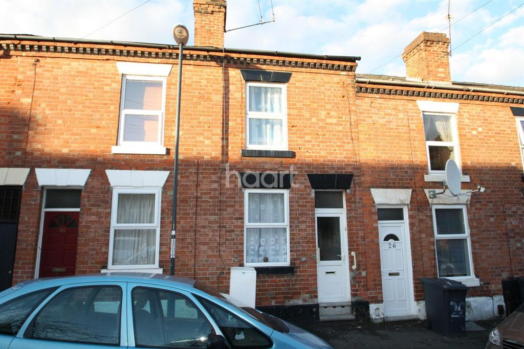 2 Bedrooms Terraced House for sale in Dashwood Street, Derby