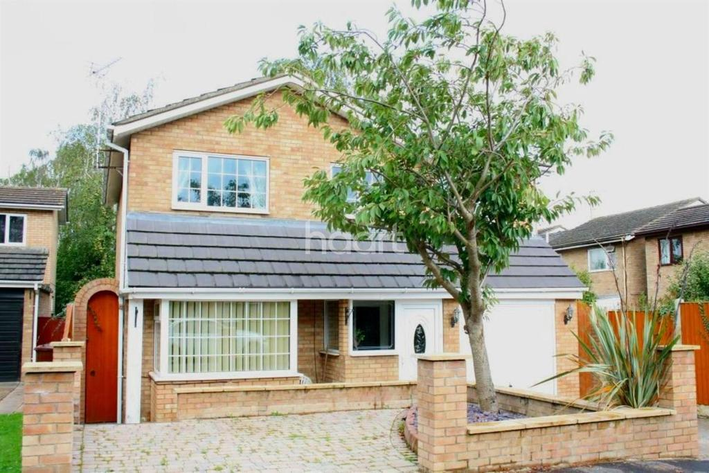 4 Bedrooms Detached House for sale in Thirlmere Way, Lincoln, LN6