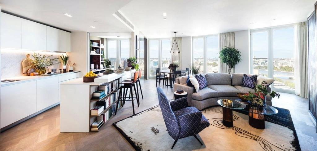 2 Bedrooms Apartment Flat for sale in South Bank Tower, Southwark, SE1