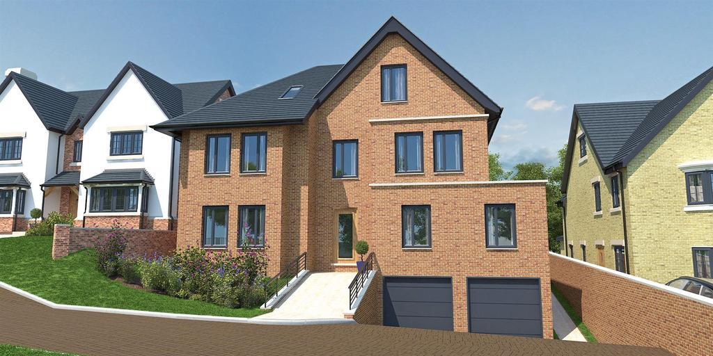 5 Bedrooms Detached House for sale in Chesham House, Ridgebourne Road, Shrewsbury