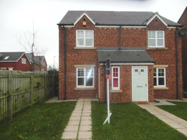 2 Bedrooms Semi Detached House for sale in GOSWICK WAY, EAST SHORE VILLAGE, SEAHAM DISTRICT