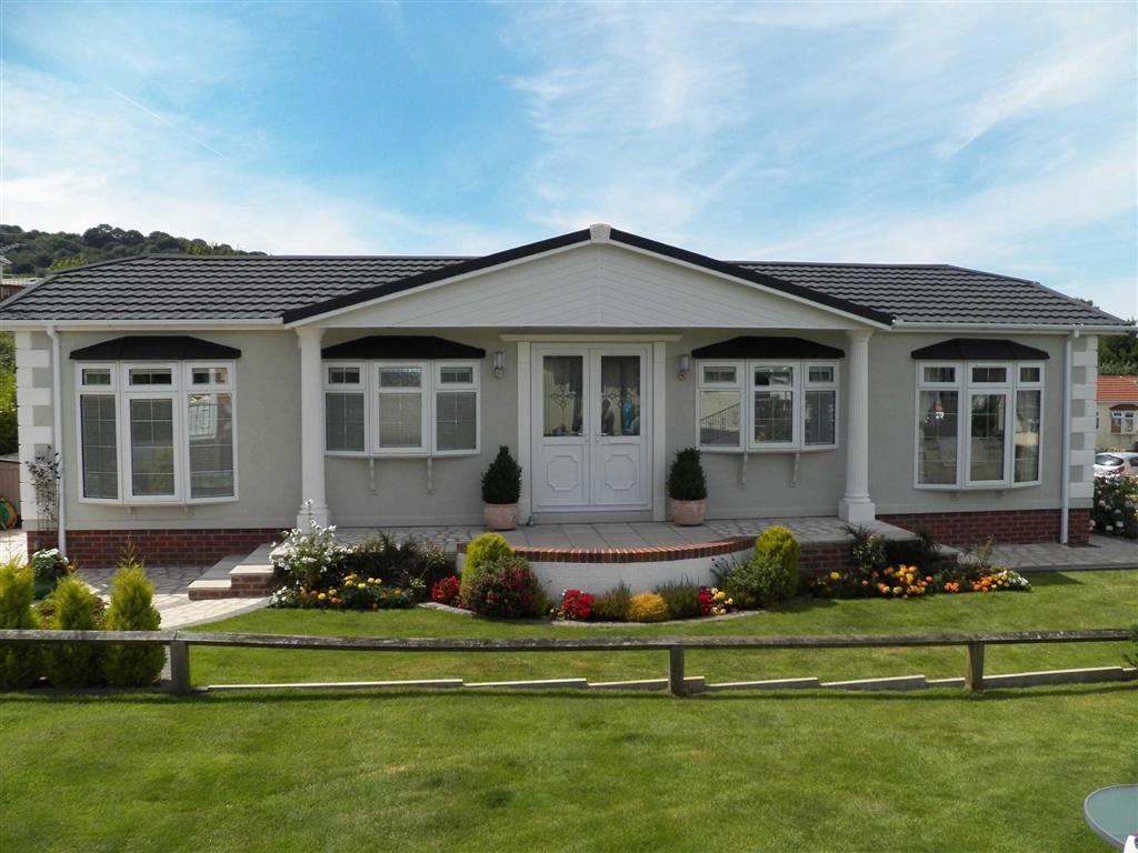 2 Bedrooms Park Home Mobile Home for sale in Schooner Park, New Quay, Ceredigion