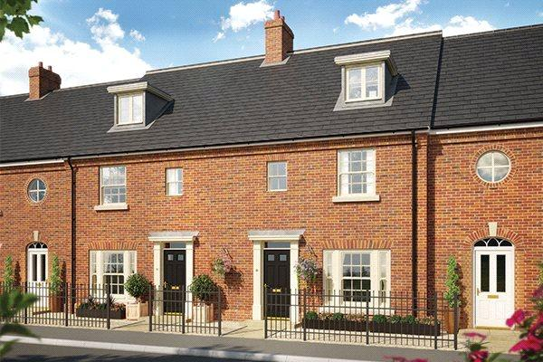 4 Bedrooms Terraced House for sale in Plot 16 Grace Park, Lakenham, Norwich, NR1