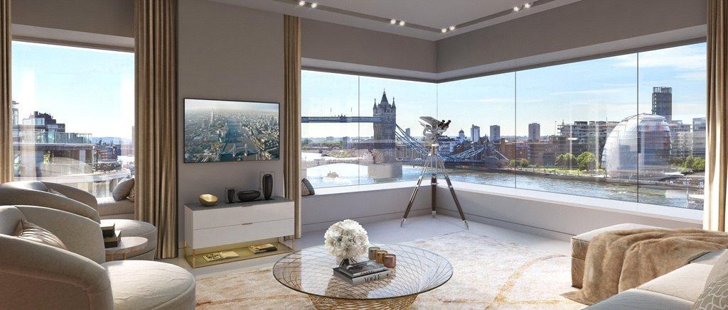 1 Bedroom Flat for sale in Landmark Place At Tower Bridge, Water Lane, London, EC3R