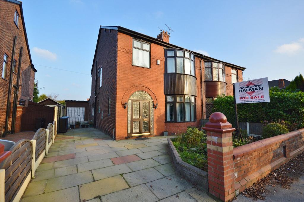 4 Bedrooms Semi Detached House for sale in Wellington Road North, Heaton Chapel