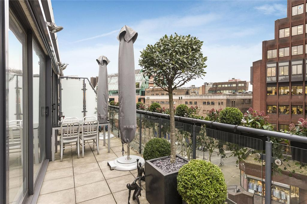 2 Bedrooms Penthouse Flat for sale in Phoenix Street, Covent Garden, WC2H