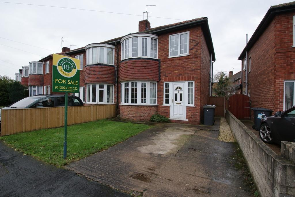3 Bedrooms Semi Detached House for sale in 6 Blake Avenue, Wheatley, Doncaster, DN2 4DZ