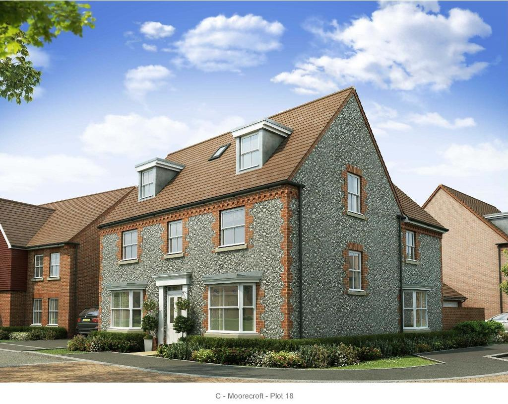 5 Bedrooms Detached House for sale in Hurstpierpoint West Sussex West Sussex BN6