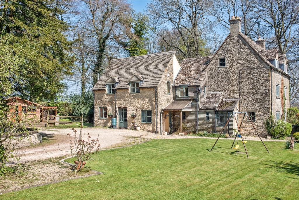5 Bedrooms Semi Detached House for sale in Whitehorse Cottages, Frampton Mansell, Gloucestershire