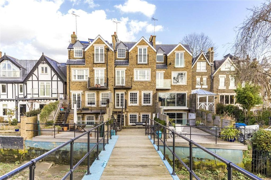 5 Bedrooms Terraced House for sale in Grove Park Road, Chiswick, London, W4