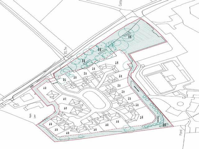 Plot Commercial for sale in Blithbury Road,Blithbury,Staffs