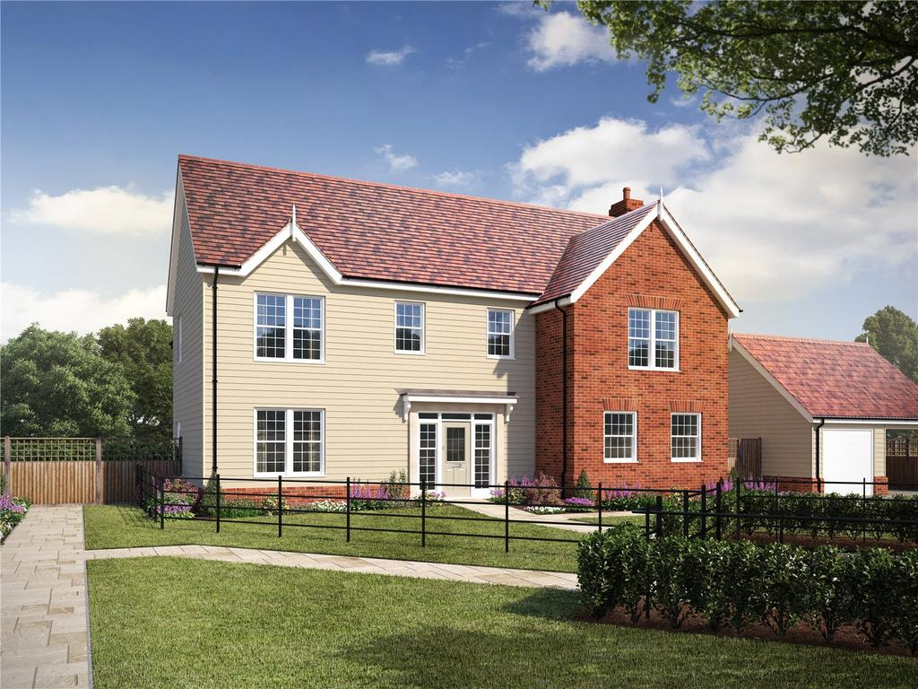 5 Bedrooms Detached House for sale in Plot 11 - Straight Road, Foxhall, Ipswich, Suffolk, IP3