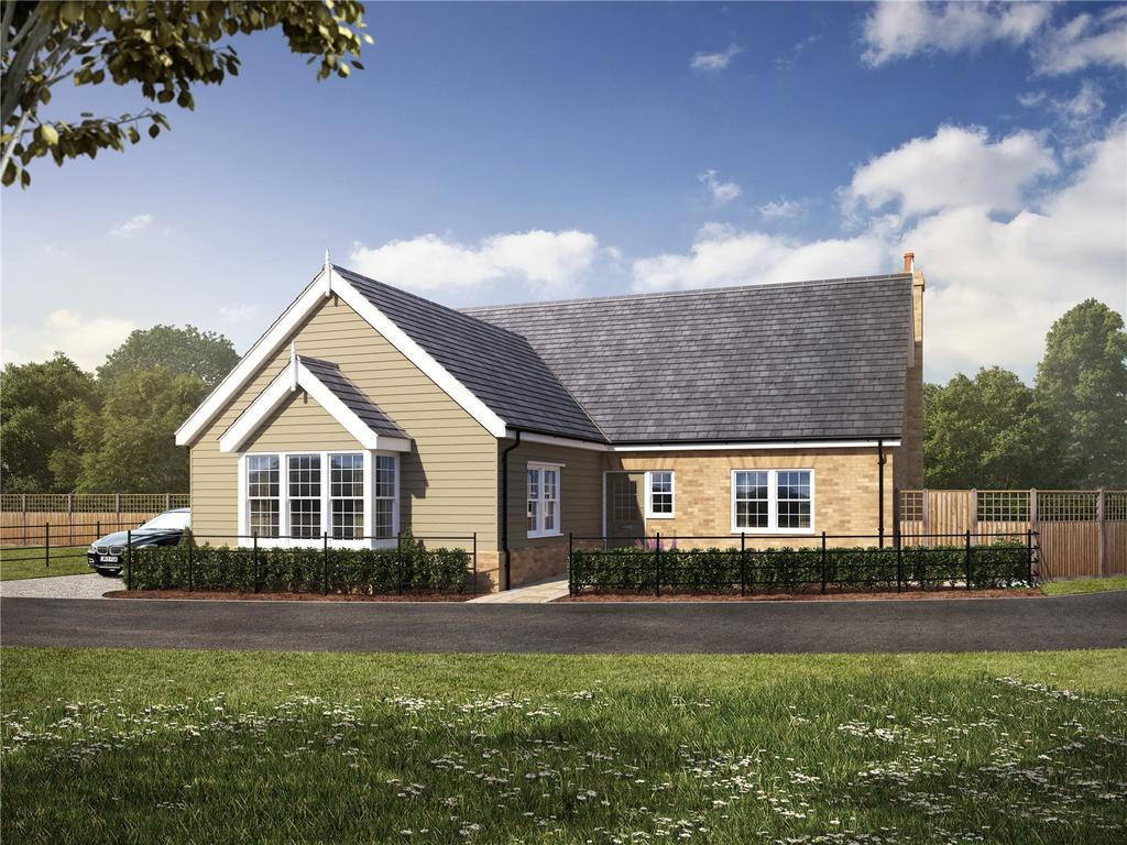 3 Bedrooms Detached Bungalow for sale in Plot 14 - Straight Road, Foxhall, Ipswich, Suffolk, IP3