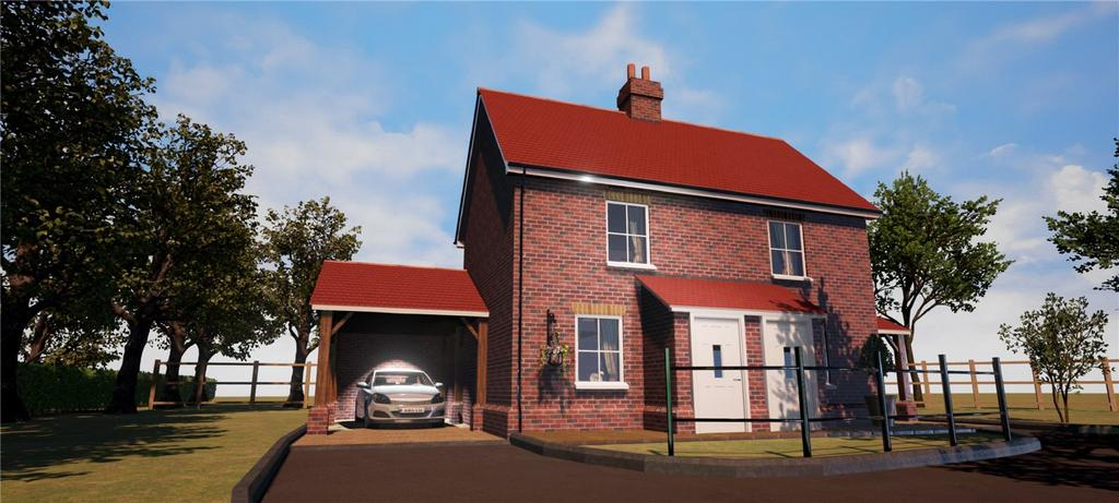 2 Bedrooms Detached House for sale in Plot 1 - Straight Road, Foxhall, Ipswich, Suffolk, IP3