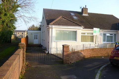 2 bedroom semi-detached bungalow to rent - Penylan, Litchard, Bridgend County Borough, CF31 1QW