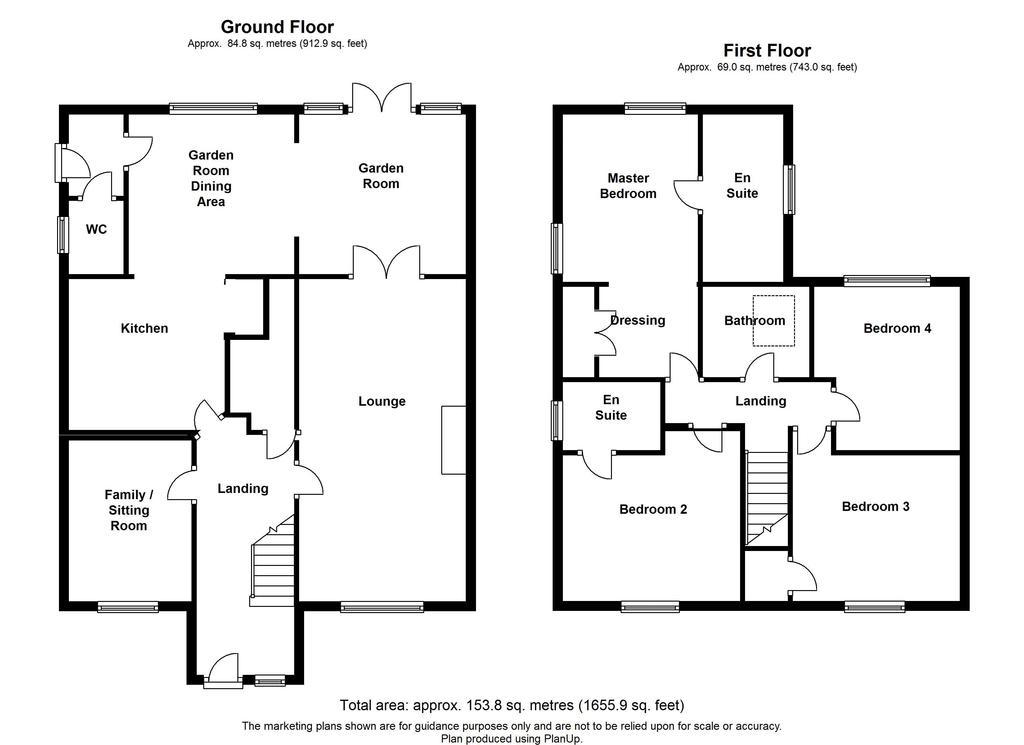 Floorplan 1 of 2: Main residence
