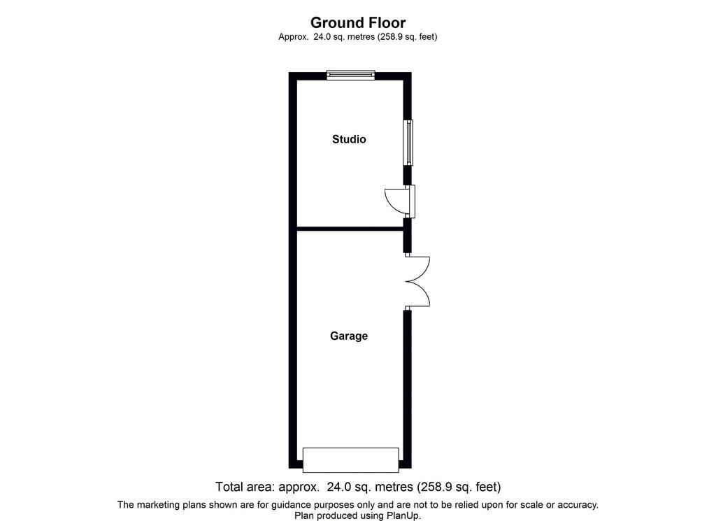 Floorplan 2 of 2: Garage