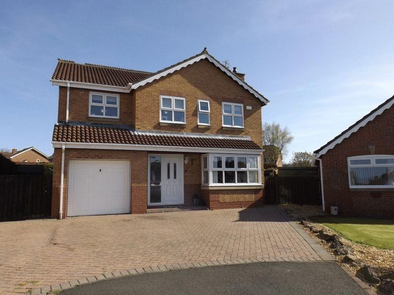 4 Bedrooms Detached House for sale in Chipchase Close, Bedlington, Four Bedroom Detached House