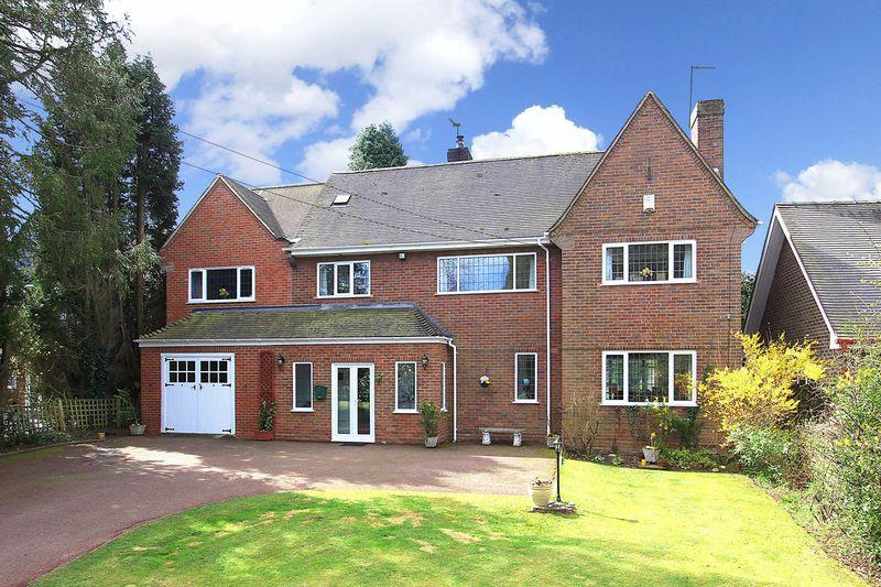 5 Bedrooms Detached House for sale in TETTENHALL, Wergs Road
